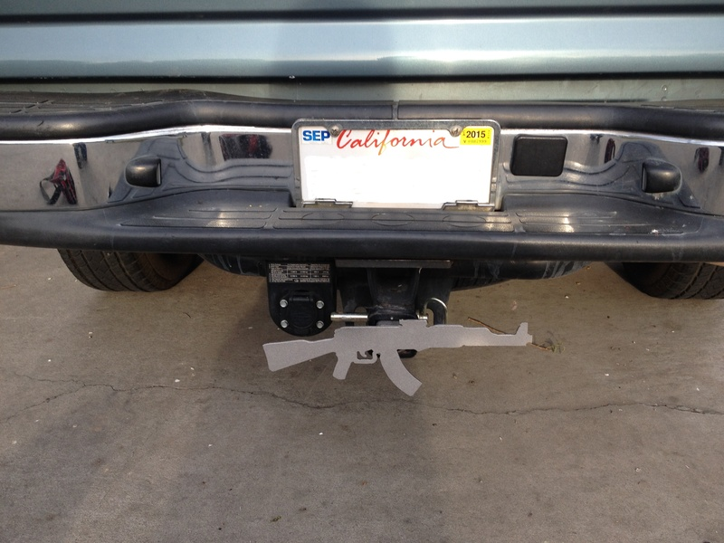 REAR TRUCK HITCH